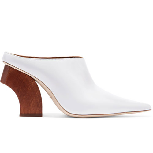 Yasmin leather mules