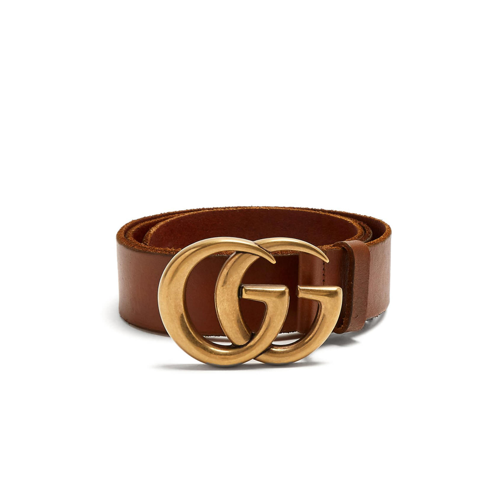 GG-logo 4cm leather belt