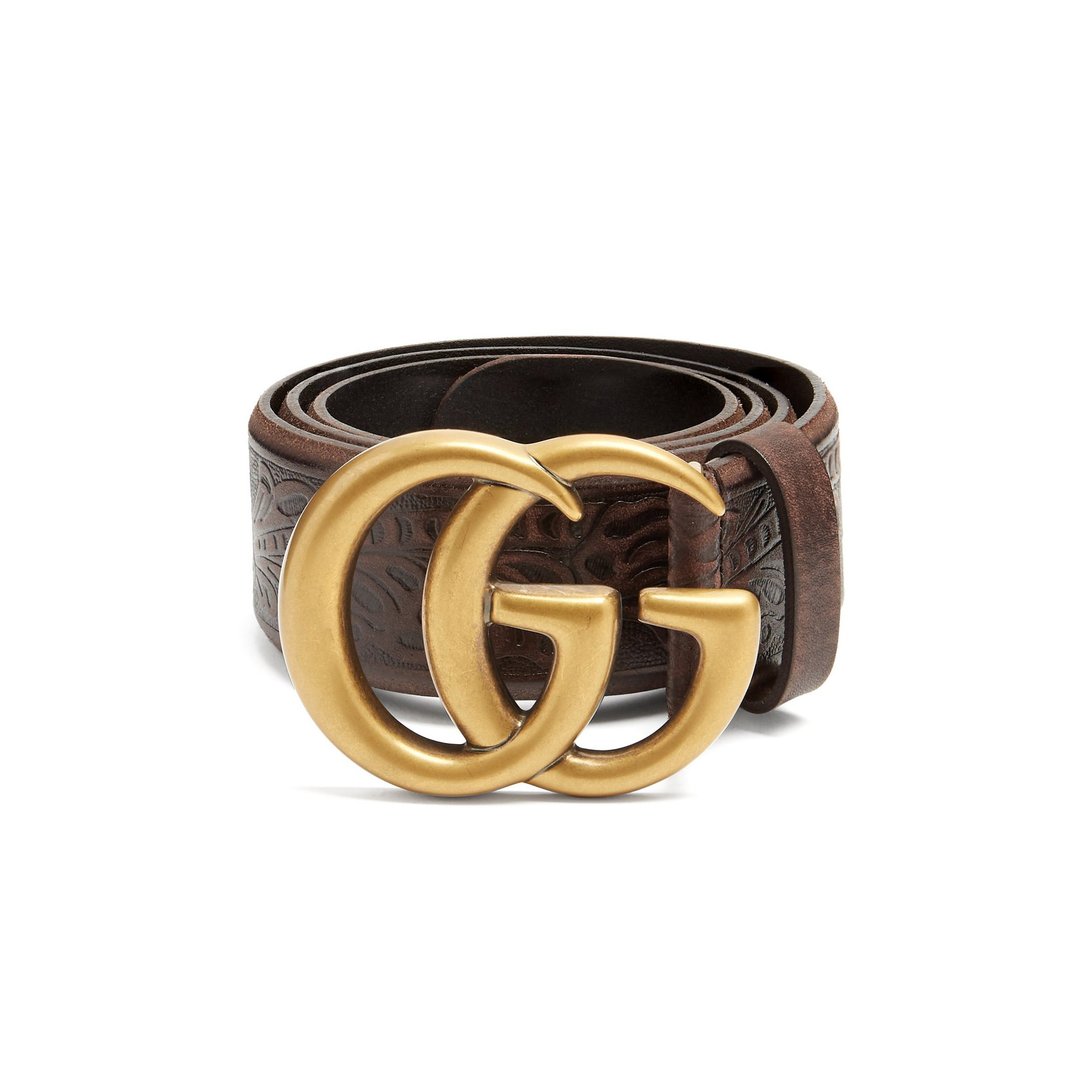 GG Vintage 4cm leather belt